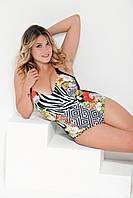 Совместный купальник Miss Marea 17669 48 Черно-Белый MissMarea 17669
