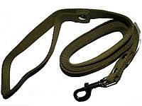 Поводок для собаки брезентовый 30 мм*5 м