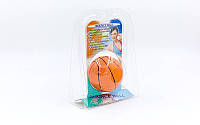 Мяч прыгающий для реакции и реабилитации Bounce Ball PS RC-02-B (резина, d-60мм, 70гр)