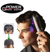 Лазерная массажная расческа Power Grow Comb с тройным эффектом для укрепления волос. купить в Украине, фото 1