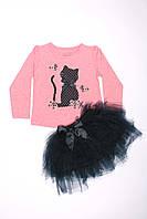 Костюм с шифоновой юбкой для девочек Breeze оптом (98-122), фото 1