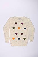 Вязанная туника для девочек Breeze оптом (110-140), фото 1