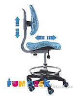 Детское кресло FunDesk SST6 голубой SST6_Blue