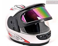 Мотоциклетный шлем новый 2 визора, на Мотоцикл, Скутер, Мото QUAD,