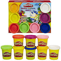Детский набор пластилина Play-Doh A7923 Hasbro, 8 баночек