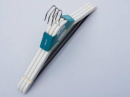 Плечики вешалки пластмассовые усиленные цвета слоновой кости , 44  см