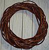 Венок из лозы коричневый 45 см