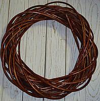 Венок из лозы коричневый 45 см, фото 1