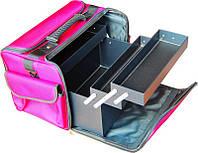 Чемодан, маникюрная сумка для мастера, тканевый, фото 1