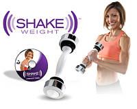 Тренажер виброгантеля Shake Weight Women (Шейк Уэйт Вейт) для женщин с DVD-диском купить в Украине