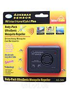 Портативный ультразвуковой отпугиватель комаров UltraSonic Mosquito Repeller Aokeman Sensor AO-149 купить
