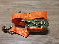 Стяжка груза, 0.5t. 25mm.x5m.(0.5+4.5) метал. ручка