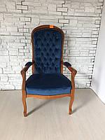 Итальянское мягкое кресло в стиле бароко с подлокотниками, новое.