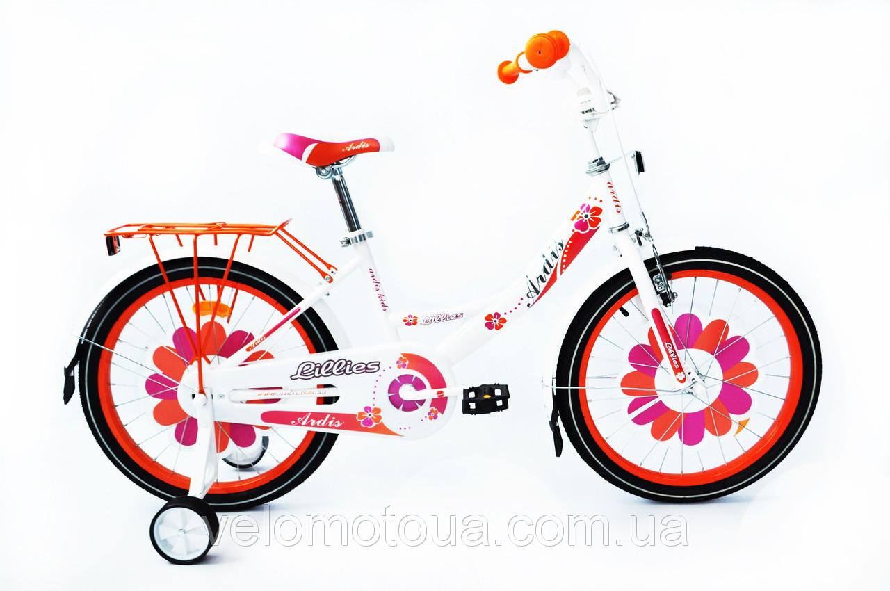 """Велосипед детский Ardis Lillies 12""""."""