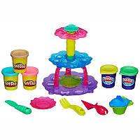 Игровой набор с пластилином Play-Doh «Башня из кексов» A5144 Hasbro