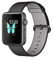 Смарт-часы Apple Watch Sport Space grey (38mm Black Woven Nylon)