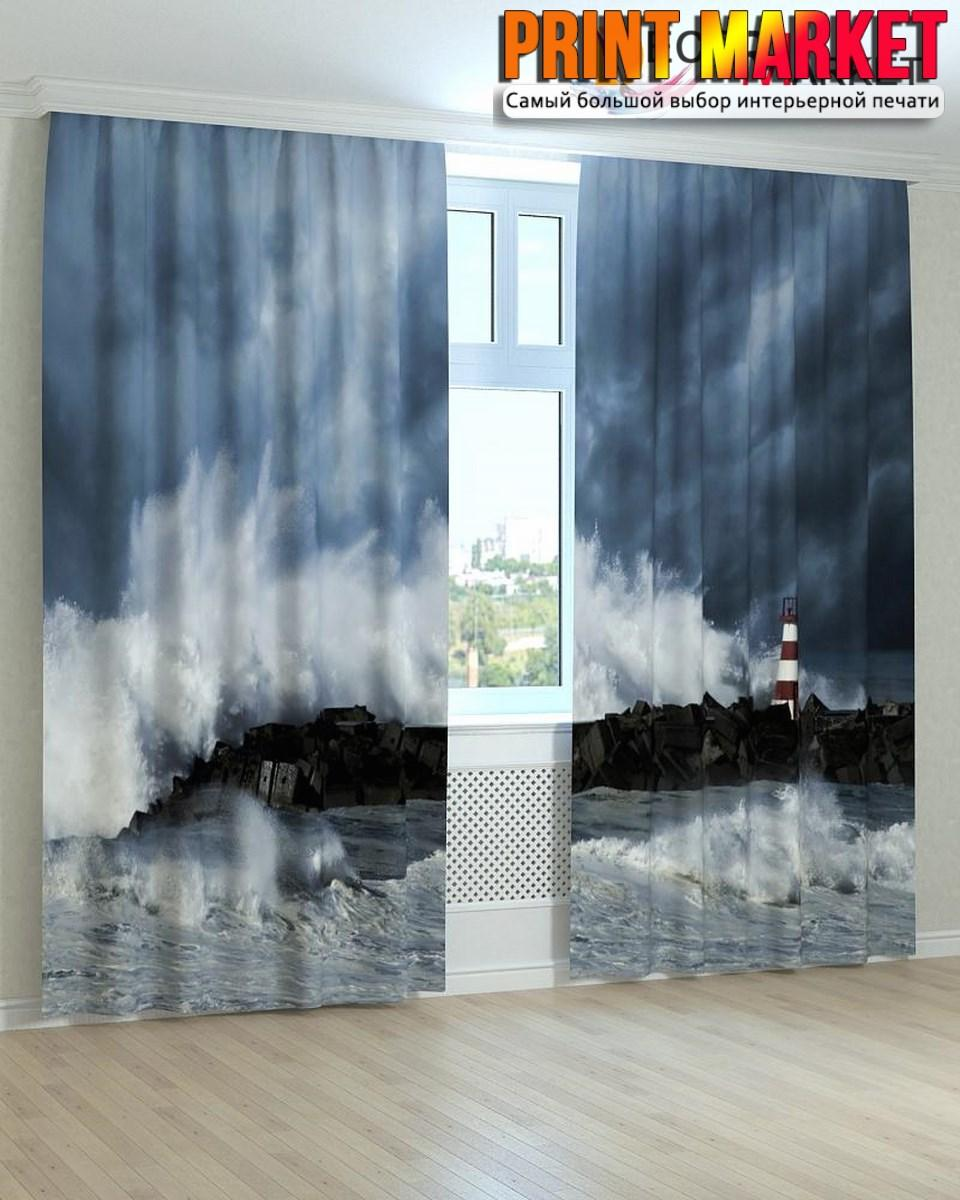 Фотошторы шторм 3D