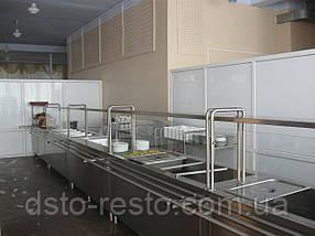 Мармит  первых блюд 1000/700/1400 мм (2 конфорки), фото 3