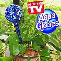 Шары для автополива растений дозатор воды колба Aqua Globes (Аква Глоубс) большие 30 см купить в Украине