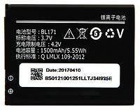 Аккумулятор (Батарея) Lenovo A319/A356/A368/A370e/A376/A390/A390T BL171 (1500mAh) Оригинал