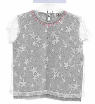 Брендовий футболка для дівчинки Gaialuna