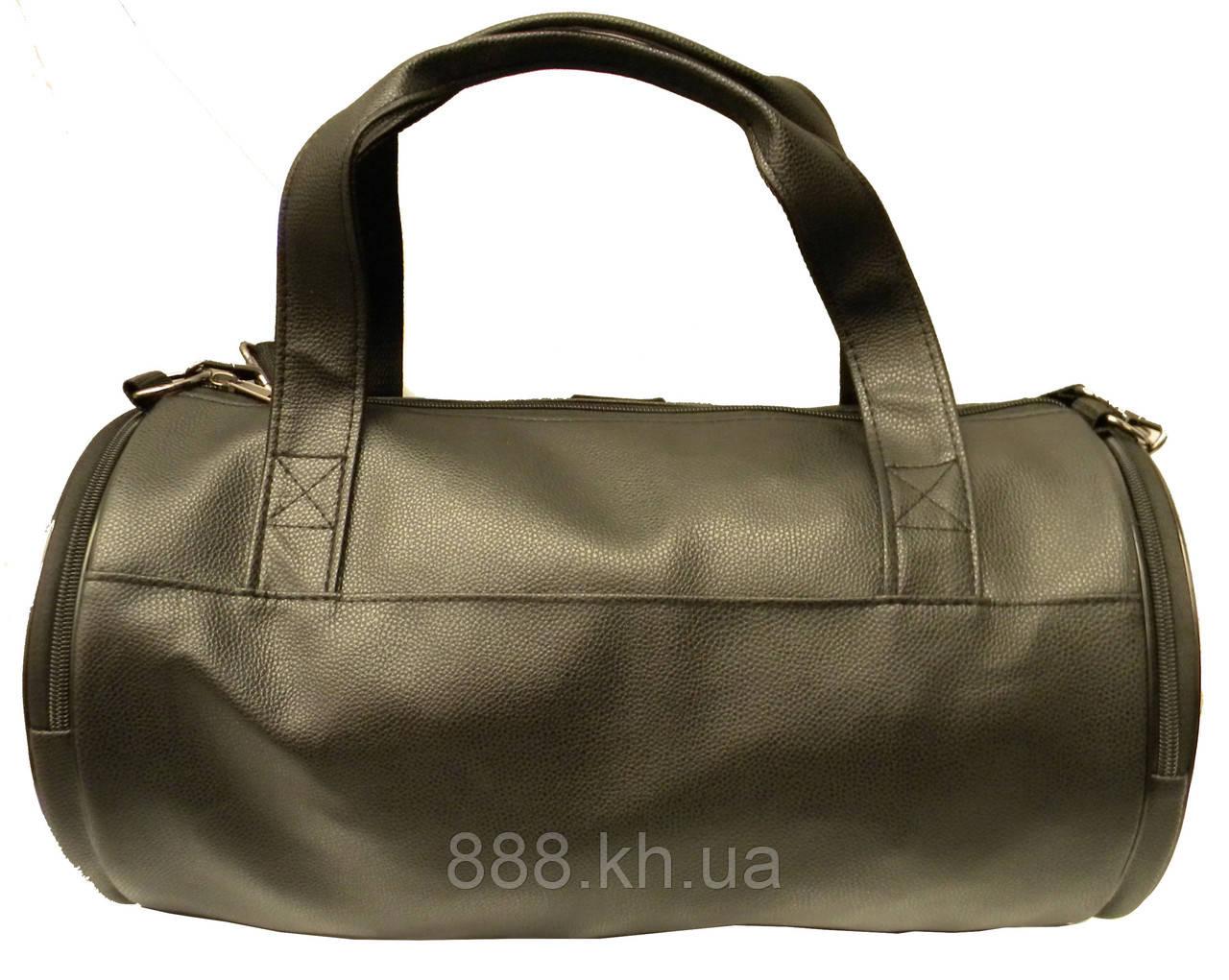a1650ed61b94 ... Кожаная сумка бочка Philipp Plein, черная мужская сумка PP, женская  сумка для тренировок Филипп ...