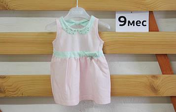 Ошатне трикотажне плаття для маленької дівчинки Gaialuna