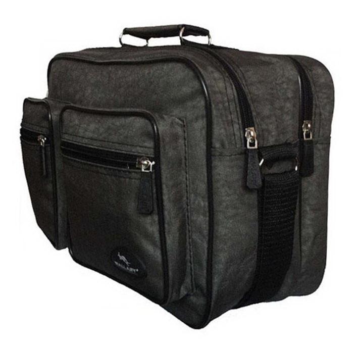 Мужская сумка барсетка через плечо папка портфель фабричный А4 8w2647 хаки 35х24х15см