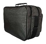 Мужская сумка барсетка через плечо папка портфель фабричный А4 8w2647 хаки 35х24х15см, фото 4