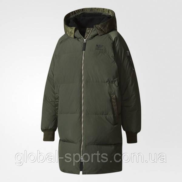 83518d1c2784 Женский пуховик Adidas Originals BOMBER LONG(Артикул BQ7476 ) - Global  Sport в Харькове