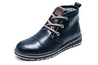 Ботинки Clarks Urban Tribe, мужские, натуральная кожа, на меху, чёрные, р. 40 41 43 45