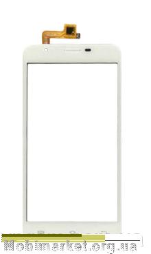 Сенсор (тачскрін) для Oukitel U7 Pro, BRAVIS Atlas A551 Dual SIM  білий, фото 2