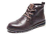 Ботинки Clarks Urban Tribe, мужские, натуральная кожа, на меху, коричневые, р. 40 41 42 43 44 45