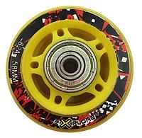 Колеса для роликов Explore Wheels 58mm, 82А с подшипником (1шт)