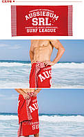 ПЛЯЖНОЕ ПОЛОТЕНЦЕ AUSSIEBUM RED