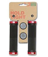 Грипсы Green Cycle Grips GC-G201, 130mm с двумя красными замками