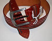 Стильный кожаный ремень Gucci