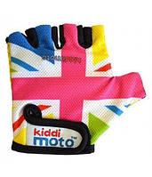 Перчатки Детские Kiddi Moto Британский Флаг В Цветах Радуги