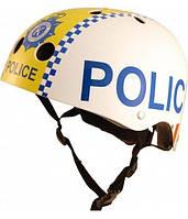 Шлем Kiddi Moto Полиция, Белый