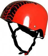 Шлем Kiddi Moto С Рисунком Протектора, Красный