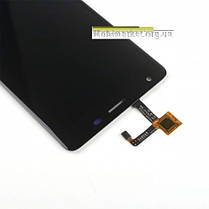 Модуль (дисплей+сенсор) для Oukitel K6000 Pro чорний, фото 3