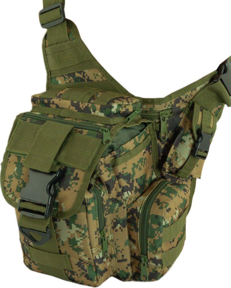 Надійна чоловіча сумка Traum 7035-07 зелений