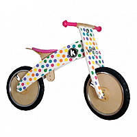 Беговел Kiddi Moto Kurve Цветной Горошек