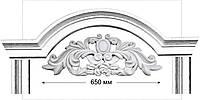 Декор фасада: архитектурная лепнина (Ліпнина - портали, панно, маскарони, картуші)