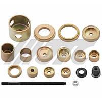 Набор инструментов для демонтажа/монтажа сайлентблоков нижнего рычага VAG (11 предметов) (шт.)