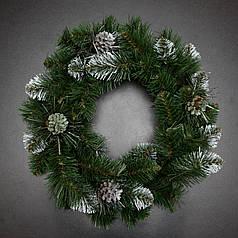 Венок новогодний 50 см