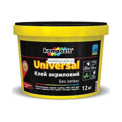Клей акриловый Universal Кompozit, 1 кг, фото 2