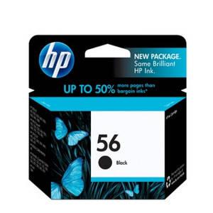 Чёрный картридж HP 56 (C6656AE)