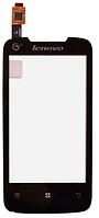 Сенсор (тачскрин) для Lenovo A390T черный Оригинал