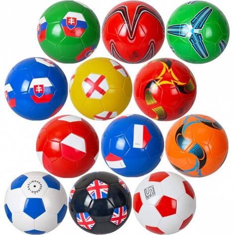 Мяч футбольный «Цветной» MF, фото 2